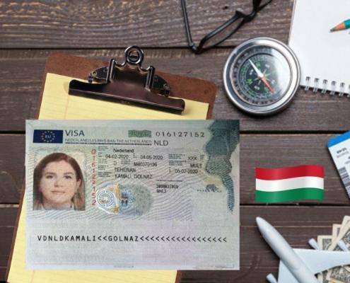 ویزای همراه تحصیلی هلند – خانم گلناز کمالی