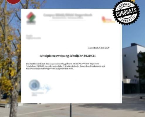 پذیرش تحصیلی مدارس اتریش-خانم نیکا