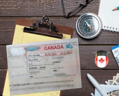 ویزای تحصیلی کانادا-خانم نگار بهرامی