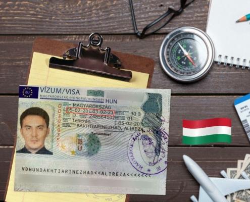 ویزای تحصیلی مجارستان-آقای علیرضا بختیاری نژاد